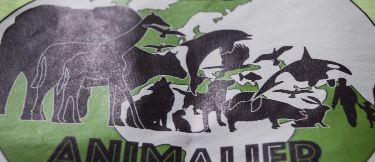 T-shirt collectif animalier DU 06