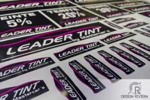 Autocollants Leader-Tint