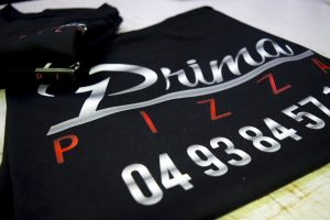 T-shirt prima pizza