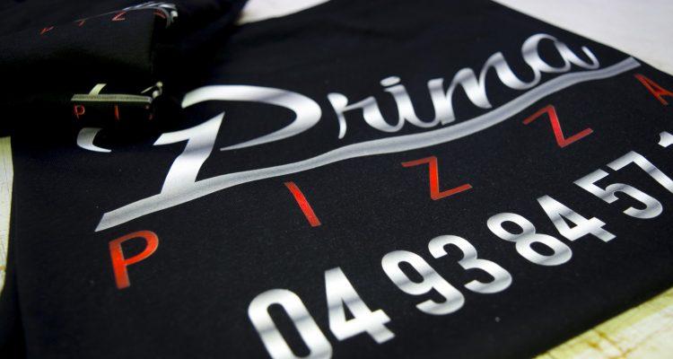 T-shirt prima pizza