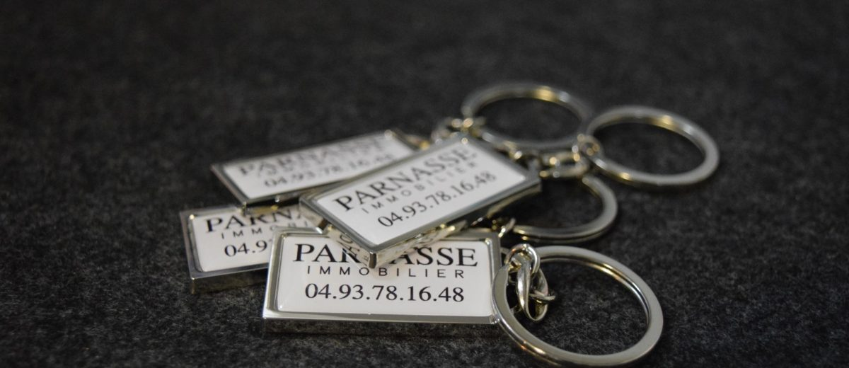 PORTE-CLEFS PARNASSA IMMOBILIER